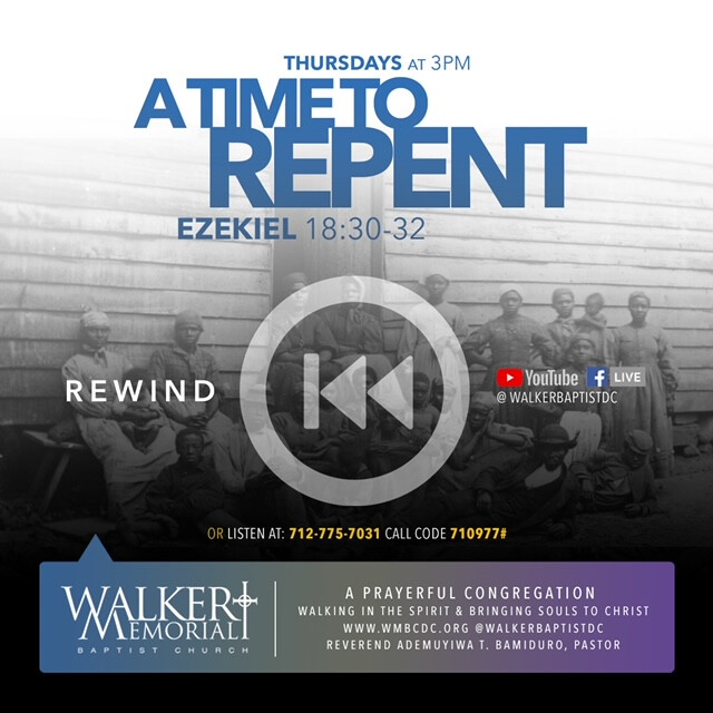 Thursday Revival: A Time To Repent