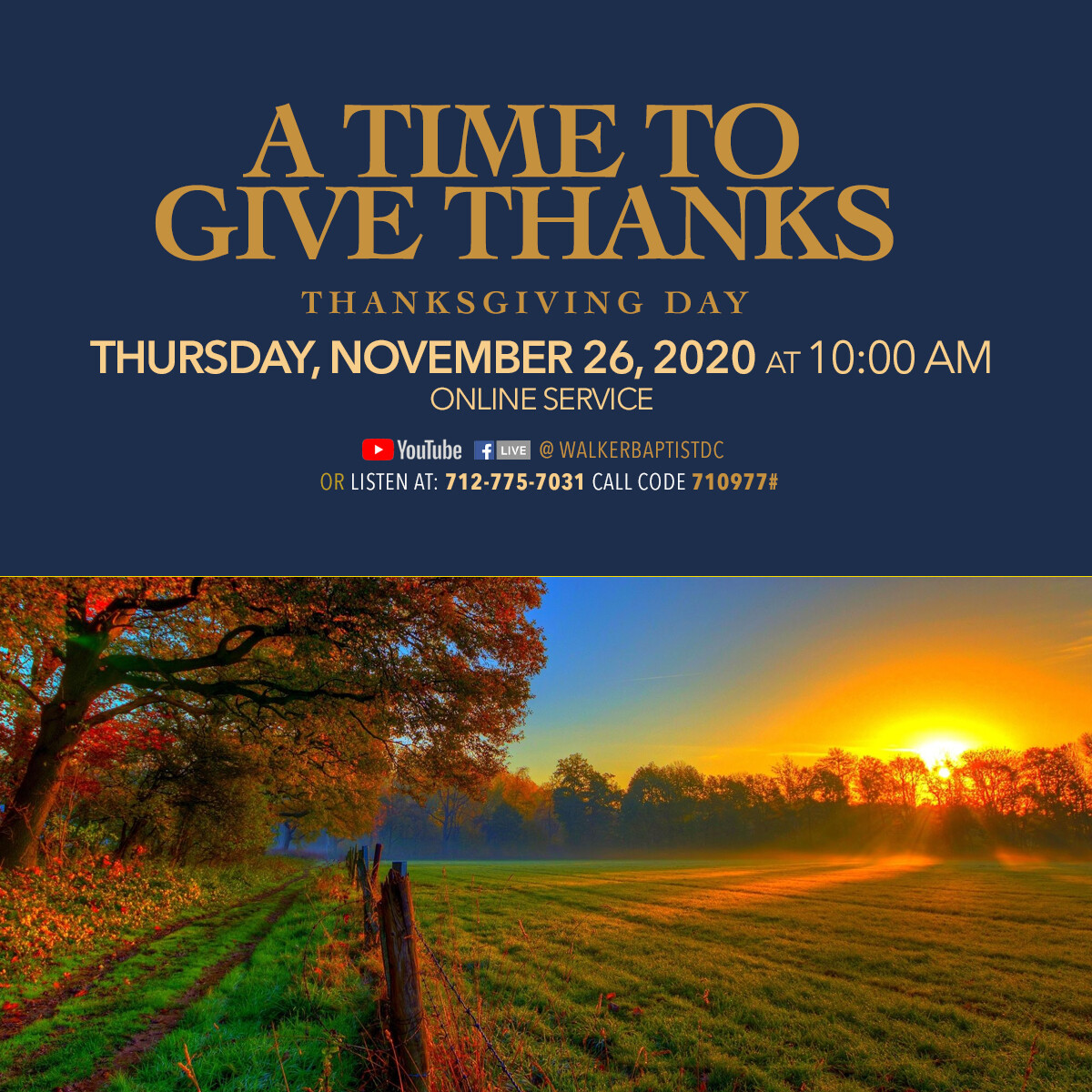 A Time to Give Thanks