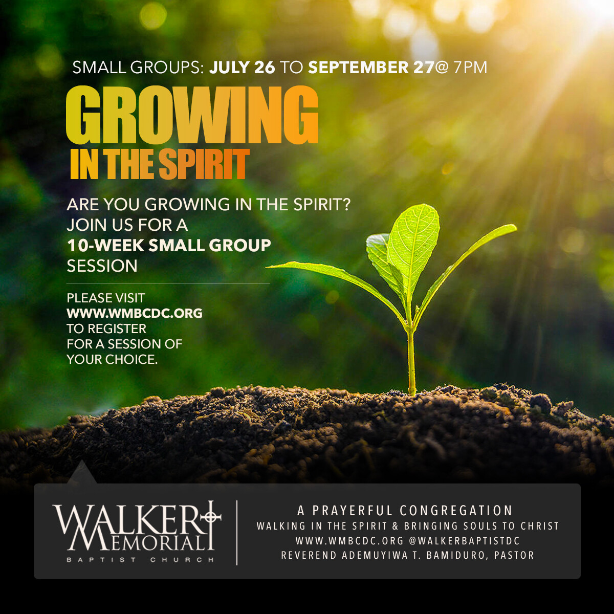 Small Group: Are You Growing In the Spirit